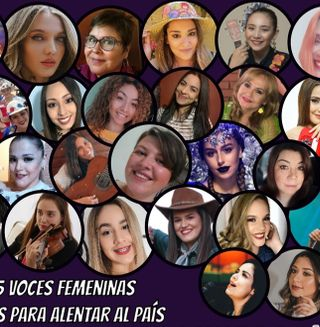 voces femeninas